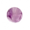 Dog Teeth Amethyst 12mm Coin 14pcs Approx